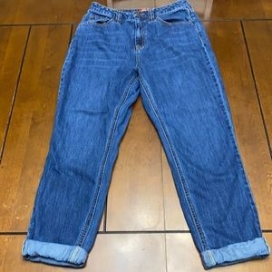 Dickies cuffed mom jeans size 9/29